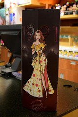 2018 Disney Designer Collection Premiere Series - Merchandise In Store Release - 2018-09-28 - Belle Doll - Closed Box - Left Side View (drj1828) Tags: disneystore disneydesignercollection premiereseries promo storedisplay 2018 merchandise colourpop doll limitededition belle 12inch beautyandthebeast