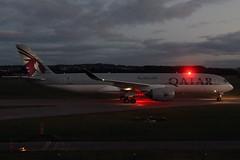 A350 A7-ALA Qatar Airways - Edinburgh Airport 01/10/18 (robert_pittuck) Tags: a350 a7ala qatar airways edinburgh airport 011018