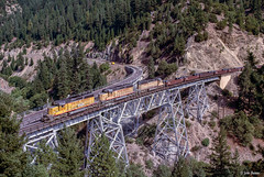 UP 3635 West at Keddie, CA (thechief500) Tags: featherriverroute railroads up keddie ca usa us