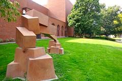 """Encounter,"" Sculpture by Bruce Beasley (ali eminov) Tags: eugene oregon universities universityoforegon museums schnitzermuseumofart sculptors bruce beasley sculptures encounter"