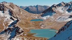 Jöriseen (m_laRs_k) Tags: suppenzoom superzoom 14150 omd olympus outdoors hiking nature orangeteal alps mountains lakes scuol davos graubünden switzerland flüela jöriseen