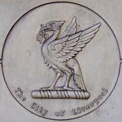 Liverbird, Liverpool, England (teresue) Tags: 2017 uk unitedkingdom greatbritainengland merseyside liverpool liverbird