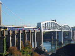43165 Royal Albert Bridge (1) (Marky7890) Tags: gwr 43165 class43 hst 1a81 royalalbertbridge railway saltash cornwall cornishmainline train