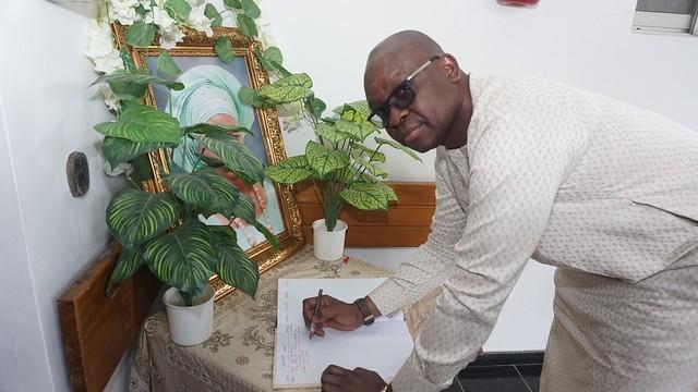 Abuja Condolence October 2018