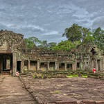 Temple ruins of Preah Khan in Angkor Archeological Park near Siem Reap, Cambodia thumbnail