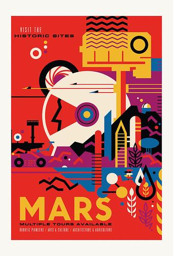 05-Carte postale // 10x15cm // Mars
