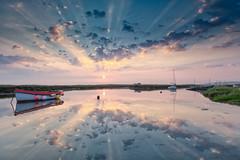 Morning (andybam1955) Tags: dawn quay landscape sunrise morston clouds coastal morstonquay sky northnorfolk rural boats norfolk sea