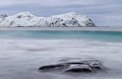 På bølgelengden (vandrende) Tags: lofoten nor napp nordland vikten norway landscape paysage landskap norvege norge