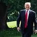 President Trump South Lawn