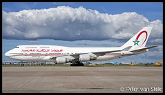 8066868_RoyalAirMaroc_B747-400_CN-RGA__AMS_25092018 (Peter van Stelle) Tags: aviation aircraft airport airline amsterdam schiphol eham ams nl nld noordholland thenetherlands