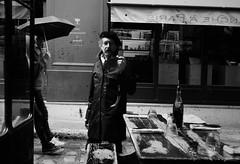 Un Dimanche A Paris (Professor Bop) Tags: olympusem1 professorbop drjazz paris france rivegauche leftbank street streetphotography blackandwhite bw monochrome selfportrait
