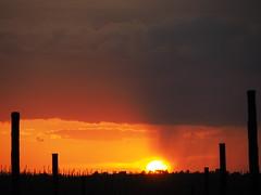 Stormy sunset (pepa_carbassa) Tags: naturalezacautivadora naturaleza tormenta crepuscle crepúsculo crépuscule coucherdesoleil storm sunset