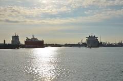 Xiang He Kou en Bigroll Bering (Hugo Sluimer) Tags: portofrotterdam port haven onzehaven nlrtm rotterdam zuidholland holland scheepvaart