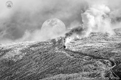 """""""Railway to the Moon - A Timeless Adventure"""". (cyberdoctorind) Tags: ifttt 500px storm fog eruption extreme terrain mountain cog railway range mountains"""