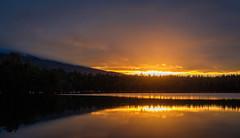 First Light, Daicey Pond (jtr27) Tags: dscf2713xl jtr27 fuji fujifilm xt20 xtrans xf 35mm f2 f20 rwr wr fujinon daiceypond sunrise baxterstatepark maine newengland firstlight mount katahdin