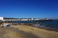 Southwold pier 3 (pocahontas1975) Tags: southwold suffolk walberswick river sea walk sunny britain sand beach church village