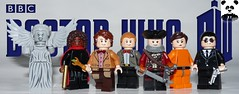 The 11th Doctor (HaphazardPanda) Tags: lego figs fig figures figure minifigs minifig minifigures minifigure purist purists character characters films film movie movies tv show shows toy doctor who dr 11th eleventh weeping angel queen elizabeth the dreamlord captain henry avery cleaves canton everett delaware iii liz 10 10th tenth