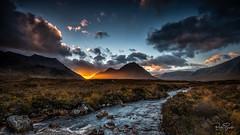 Glen Etive Sunset (petebristo) Tags: glenetive scotland waterscape sunset highlands