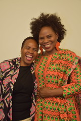 DSC_1591 UK launch of the Annual Publication of the African Women's Decade 2010-2020: Women's Participation in Decision-Making & Leadership. With Dee from Botswana and Justina Mutale from Zambia