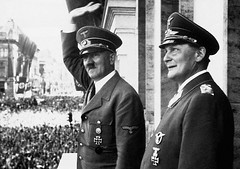 Adolf Hitler (hellenicns) Tags: commanders dictators nazis militaryofficers militarypersonnel nationalheadsofstate headsofstate governmentofficials leaders fascists ideologicalroles worldwarii19391945 government portraits prominentpersons saluting mustaches males germans austrians facialhair moustachioed mustached westerneuropeans europeans eurasians goeringhermann hitleradolf politicalleaders chancellors