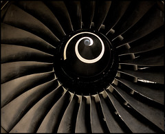 AIRBUS ENGINE (J.P.B) Tags: aviation aeroplane engine airbus moteur avion turbine reacteur linescurves