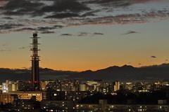 Kunitachi Sunset (seiji2012) Tags: 国立市 夕焼け 日没 タワー kunitachi evening sky light happyplanet asiafavorites