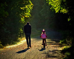 DAD & DAUGHTER (shoebox50) Tags: dadanddaughter canons120 backlight victoriabc canada