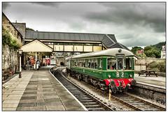 Welsh Rare Bit (david.hayes77) Tags: llangollen wales denbighshire llangollenrailway gwr greatwesternrailway e50416 dmu e56171 class109 heritage 2012 dwickhamco welshrarebit cymru only robertson traindriver