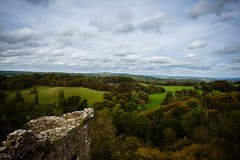 A View From The Walls (Coed Celyn Photography) Tags: national trust llandeilo carmarthenshire wales west south cymru dinefwr castle view walls landscape fields sky clouds river beautiful scenery scenic horizon grass green blue white
