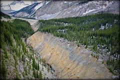 A river deep down... (Sunwapta Valley, Canada) (armxesde) Tags: pentax ricoh k3 canada kanada jasper jaspernationalpark rockymountains alberta mountain berg schnee snow felsen rocks sunwaptavalley