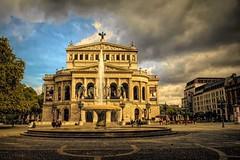 Operahouse (Gaby Swanson, Photographer) Tags: frankfurt germany opera landscape cityscape