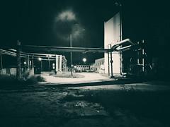 Ghost (wojciechpolewski) Tags: ghost night nightlights nightphotography nightphoto blacknwhite blackandwhite bw bnw monochromatic monochromatico monotone monochrome wpolewski fineart art