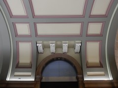 Station Hall Ceiling (mikecogh) Tags: sydney centralstation ceiling attractive painted design fancy