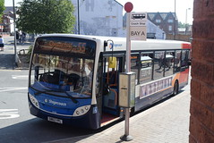 SY 36998 @ New Beetwell Street/coach station, Chesterfield (ianjpoole) Tags: stagecoach yorkshire alexander dennis enviro 200 sn63ypl 36988 working route 55 clay cross bus station new beetwell street chesterfield