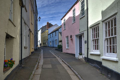 Narrow lane in Cawsand, Cornwall (Baz Richardson (now away until 30 Nov)) Tags: cornwall cawsand armadaroadcawsand narrowstreets villages oldbuildings