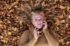 mayasl (54)-01 (Neal J.Wilson) Tags: autumn fall redhead ginger portrait portraits brown faces danish scandinavian nikon leaves