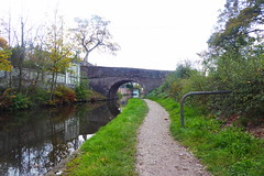 Towpath nr Redhouse Lane, Disley.   (Peak Forest Canal) October 2018 (dave_attrill) Tags: peakforest canal disley bridge redhouselane towpath peakdistrict cheshire october 2018