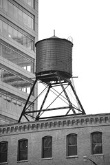 JJN_1588 (James J. Novotny) Tags: unlimitedphotos watertower d750 nikon bw blackandwhite buildings building citylife city chicago