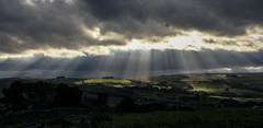 Shine a Light (Jamesylittle) Tags: rays lights light sun sky beams shine allendale hill landscape cloud amazing stunning