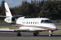 Gulfstream G150 VT-KZN Khazana Jewellery (Mark McEwan) Tags: iai israelaircraftindustries g150 gulfstream gulfstreamg150 vtkzn khazanajewellery bizjet edi edinburghairport edinburgh aviation aircraft airplane