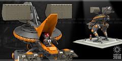 Zandai-oh 03 (messerneogeo) Tags: messerneogeo robot mech mecha zandaioh lego