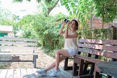 DSC_4862 (錢龍) Tags: 張倫甄 光復新村 外拍 時裝 眷村 nikon d850 cute girl 人像 甜美 長髮