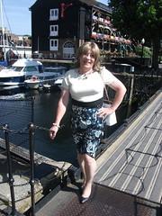 A Stroll In A Dress (rachel cole 121) Tags: tv transvestite transgendered tgirl crossdresser cd