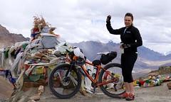 Reaching Sirsir Pass, 4826m, image: S Jigmet