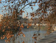 Il Tevere a Roma in un mattino di inverno (giorgiorodano46) Tags: febbraio2007 february 2007 giorgiorodano revere roma italy inverno winter river fiume aventino marzo2007 march sabina lazio