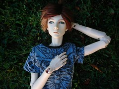 Eren (Kulukala Art) Tags: bjd balljointeddoll dollshe saint frappzilla