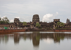 Angkor wat reflection in the pond, Siem Reap Province, Angkor, Cambodia (Eric Lafforgue) Tags: adults ancientcivilisation angkor angkorwat apsara archaeology architecture artscultureandentertainment asia buddhism buildingexterior builtstructure cambodia colourimage copyspace crowd cultures famousplace history horizontal indochina journey khmer men monument nationallandmark oldruin orientalculture photography pond religion sculpture siemreaptemplecomplex southeastasia spirituality temple thepast tourism travel traveldestinations tropicalclimate unescoworldheritagesite women yasodharapura camboimg9151 siemreapprovince