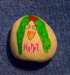 Happy Smile. (Omygodtom) Tags: funny fun chicken rock kitlens macro 18105lens nikon nikkor outside usgs usg smile