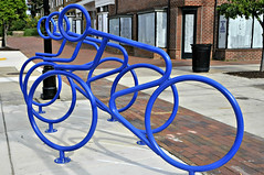 Bike Rack (Throwingbull) Tags: riverdale park md maryland city town incorporated municipal municipality bike bicycle rack racks