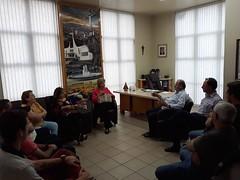 27/09/18 - Visita a prefeitura de São Marcos. Com o prefeito Evandro kuwer, vice-prefeita Rosa Mari e amigos.